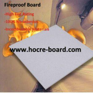 Non Asbestos Calcium Silicate Fireproof Board For Pizza