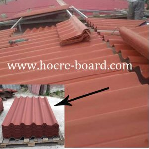 New Profile Big Six Fiber Cement Corrugated Roofing Sheet