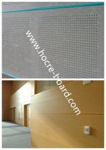 China Fiber Cement Ventilated Board For External Ceiling